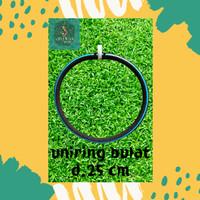 uniring aerasi kolam ikan koi hose 16 mm d.25 - lingkar d.30 cm