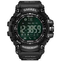 SMAEL Sport 1617LY Original Jam Tangan Pria Digital Bluetooth Rubber