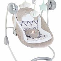 Deluxe Portable Swing Right Start /Kursi ayun otomatis baby