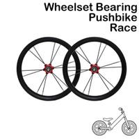 Wheelset Sepeda Pushbike Balance Bike RIngan Jari Jari Bearing Loncer