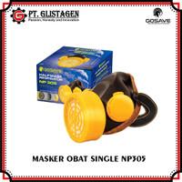 Masker Obat Single Type NP 305 Tabung Single Chemical Respirator