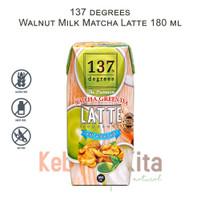 137 degrees Walnut Milk Matcha Latte 180 ml