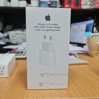 Apple adaptor iphone 12 dan12 promax 20w USB-C to lightning cabel