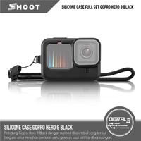 Shoot GoPro Hero 9 Black Silicone Case Plus Lanyard & Lens Cover
