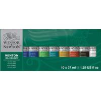 WINSOR & NEWTON OIL WINTON SET 37ML 10 COLOURS