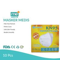 Medivie KN-95 ORIGINAL TOP QUALITY 10 Pcs Free Clip Headloop