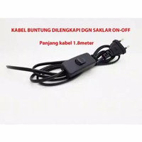 Kabel Buntung Saklar On Off Cabel Power AC Sambungan Cable