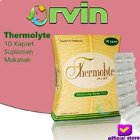 Thermolyte Plus - 10 Kaplet, Pelangsing Alami, Susut Lemak,