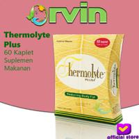 Thermolyte Plus - 60 Kaplet, Pelangsing Alami, Susut Lemak