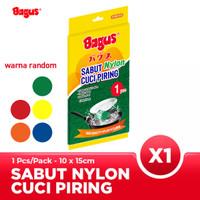 Bagus Sabut Cuci Piring Nylon 1pc 515