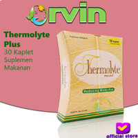 Thermolyte Plus - 30 Kaplet, Pelangsing Alami, Susut Lemak