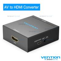 Vention Converter RCA AV HDMI Gold Plated 1080P High Quality - AV to HDMI