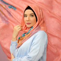 Hijab Deenay X Zaskia Sungkar Laria Peach