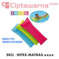 Intex Glossy Mat Lounge Inflatable. Matras / Kasur Kolam Renang