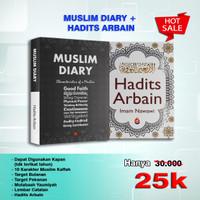 Buku Muslim Diary + Hadits Arbain (Ihsan Media)