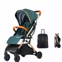 Portable Cabin Size Stroller   Kursi dorong bayi lipat ukuran kabin - Elegant Black
