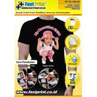 Transfer Paper Kaos Gelap A3 Taiwan fast print