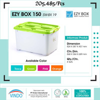 Box container ( kotak kontainer ) 150 liter ( by gojek )