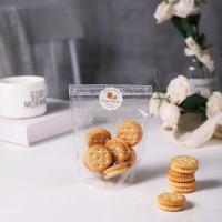 Plastik cookies putih transparan La dessert 10*15.5cm