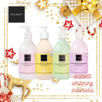 SCARLETT WHITENING BODY LOTION by Felicya Angelista Original