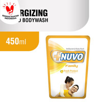 NUVO FAMILY FRESH PROTECT ANTIBACTERIAL BODY WASH 450 ML - REFILL