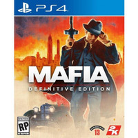 PS4 Mafia Definitive Edition CD BD PS4 ENG