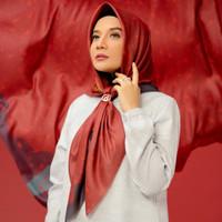 Hijab Deenay X Zaskia Sungkar Laria Maroon