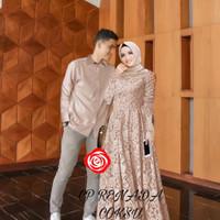 da baju couple gamis kemeja busana muslim fashion pria wanita