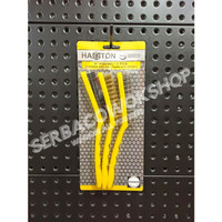 Hasston Sikat Kawat 3 Pcs Besar Brushes Nylon Kuningan Stainless Murah