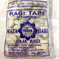 Ragi Tape Cap Matahari Cakra