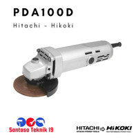 """PDA100D / PDA 100 D Mesin Gerinda Tangan 4"""" Hitachi / Hikoki"""