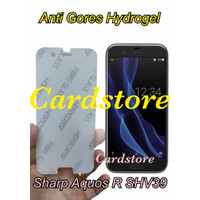 Sharp Aquos R SHV39 Anti Gores Hydrogel Full Cover Screen Protector