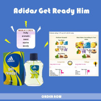 Parfum Original Import Branded Murah Pria Cowok Adidas Get Ready Him