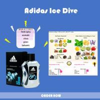 Parfum Asli Original Adidas Ice Dive EDT 100ml