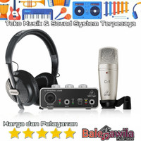 Paket Recording Behringer Uphoria Studio Original