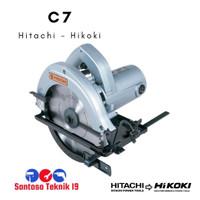 C7 / C 7 Mesin Gergji Circular Saw Hitachi / Hikoki