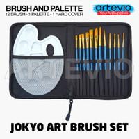 Art Brush Set Alat Lukis Kuas Cat Air Minyak Acrylic Joyko BRS-7