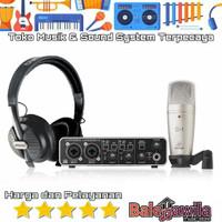 Paket Recording Behringer Uphoria Studio Pro Original