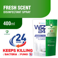WIZ 24 DISINFECTANT FRESH SCENT 400 ML - REFILL / WINGS DISINFECTANT