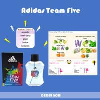 Parfum Asli Original Adidas Team Five for Men EDT 100ml