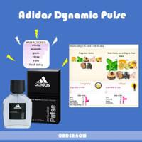 Parfum Original Import Branded Murah Pria Cowok Adidas Dynamic Pulse