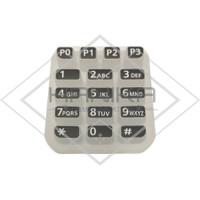Keypad HT Icom IC-V88 Baru Tombol ICV88 ICU88 IC-U88 IC-F1000 IC-F2000