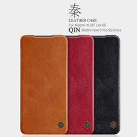 Nillkin Casing Qin Flip Case Xiaomi Mi 10T Lite / Redmi Note 9 Pro 5G