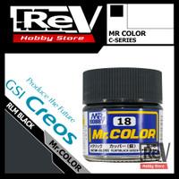 MR COLOR RLM BLACK GREEN C18