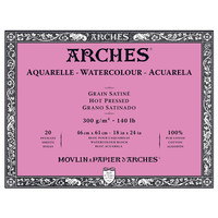 Arches Watercolor 46x61cm Hot Pressed Block 300gsm