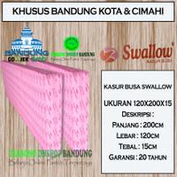 Kasur Busa Swallow Ukuran 120x200x15 | Khusus Bandung | Tarsono Dnshop