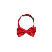dasi kupu motif batik merah bow tie instant pria wedding houseofcuff