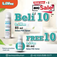 Lavme Anti Virus & Bacterial Spray 85ml - Beli 10 Gratis 10
