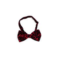 dasi kupu motif batik merah A bow tie instant pria wedding houseofcuff