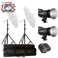 Paket Godox SK300II Lampu Umbrella Portable Sk300 Lighting Strobe Flas